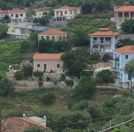Rent accommodation on Ithaca, village view