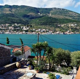 Rent an apartment on Ithaca, view to Vathy