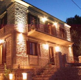 Rent accommodation on Ithaca, stone mansion