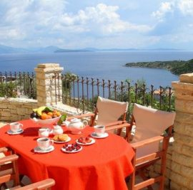 Rent accommodation on Ithaca, view of Ithaca