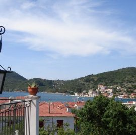 Accommodation on Ithaca, view