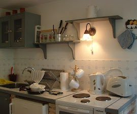 Book accommodation on Ithaca, kitchen appliances