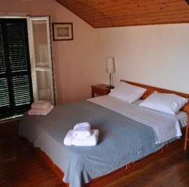 Book accommodation on Ithaca, bedroom