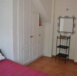 Book accommodation on Ithaca, bedroom and closet